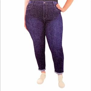 Kensie Jeans High Rise Slimming Jeans Plus Size 22